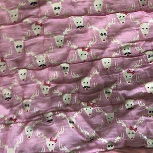 Roberta roller rabbit baby blanket/quilt